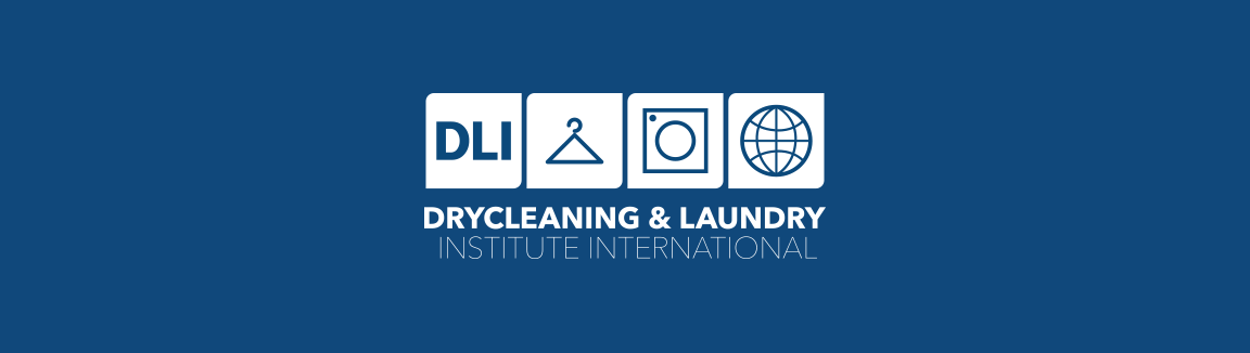 dry cleaning and laundry institute international logo in white